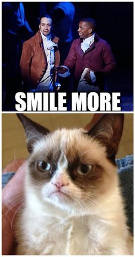 grumpy cat hamilton the musical memes