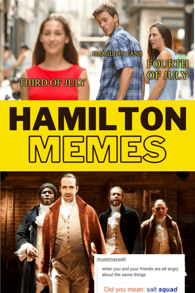 funny hamilton memes from the musical on disney plus
