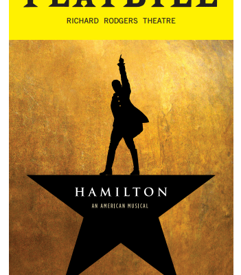Download Your Hamilton Playbill PDF For The Full Theater Experience