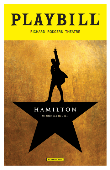 download Hamilton Playbill from 2016