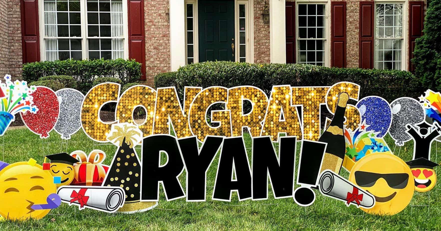 congratulations yard cards springfield va