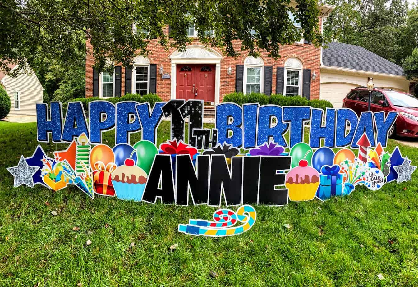 happy 11th birthday annie yard card business 101