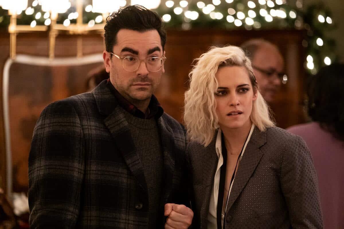 Kristen Stewart and Dan Levy quotes happiest season
