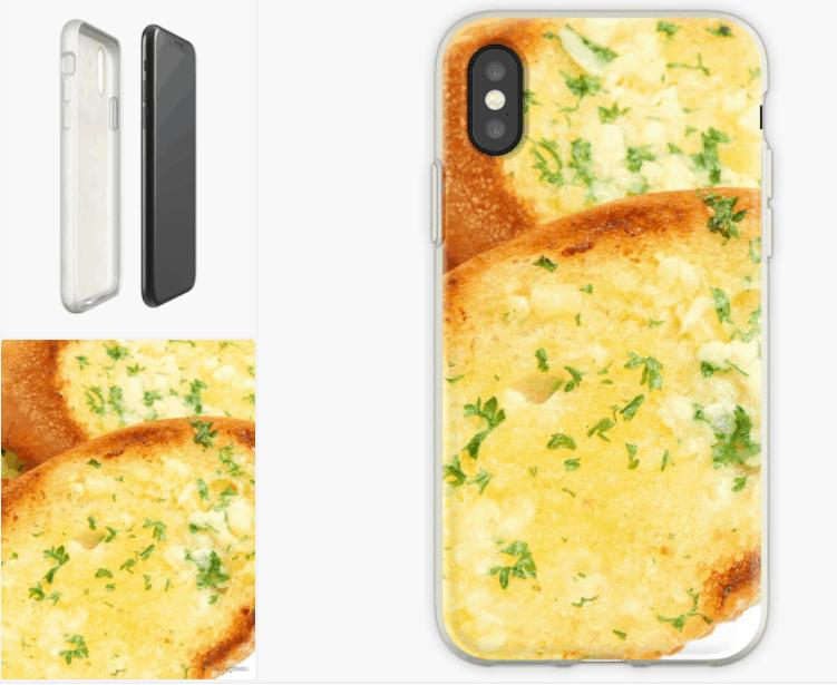 garlic bread phone case bread lover gifts