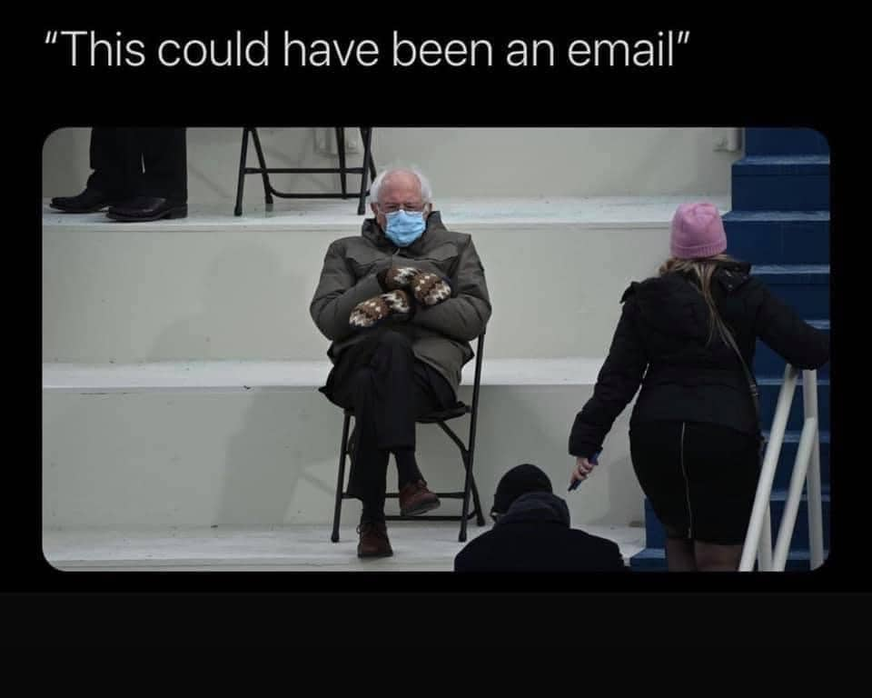 email bernie sanders memes