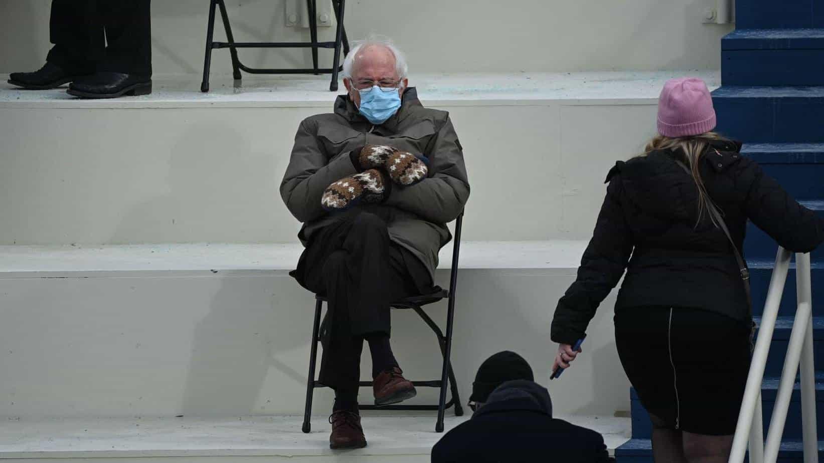 bernie inauguration memes mittens