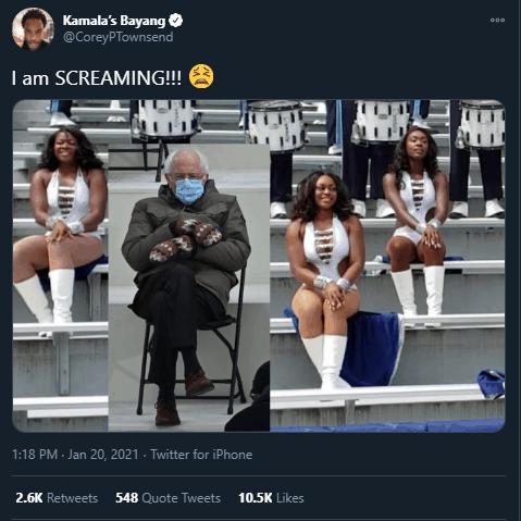 howard band bernie sanders inauguration memes