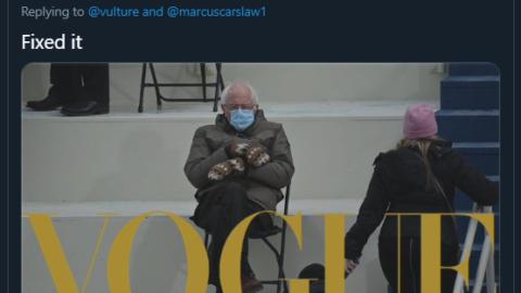 Bernie Sanders Inauguration Memes | He's A Whole Mood