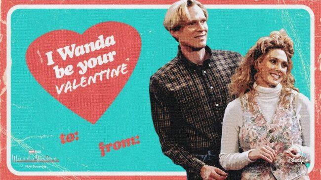 wandavision valentines memes 80s