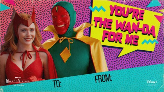 wandavision valentines memes halloween