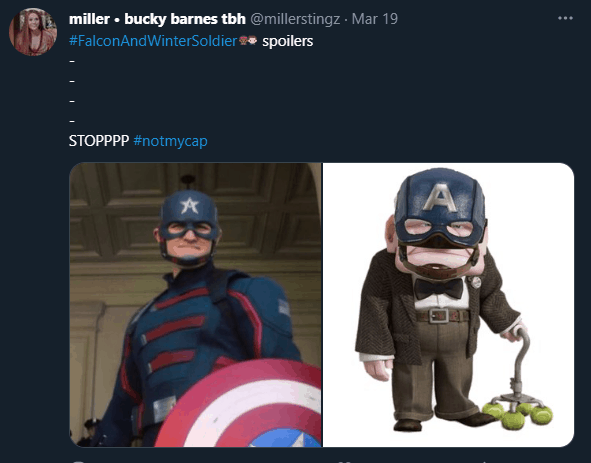 not my cap falcon and winter soldier memes