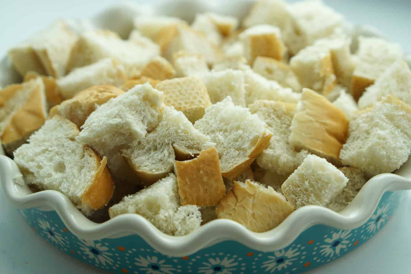 cubed french toast casserole