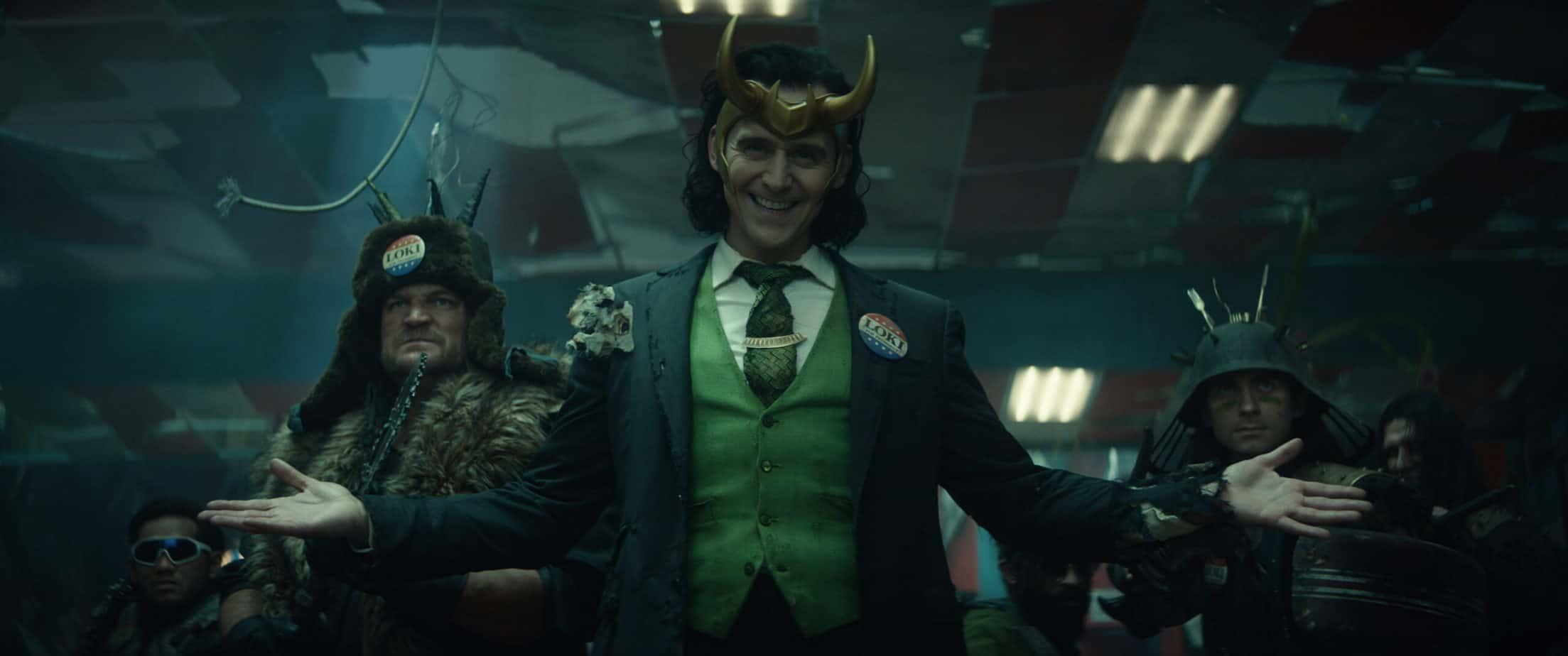 Loki (TomHiddleston) in Marvel Studios' LOKI quotes from the series