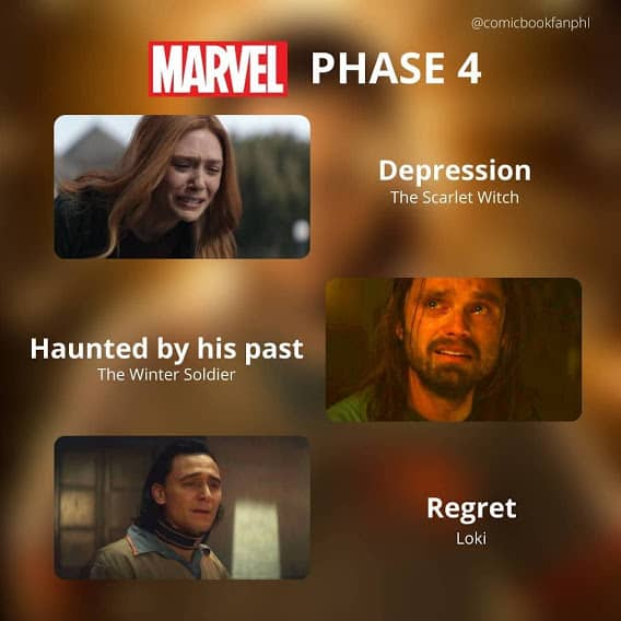 phases of grief loki memes