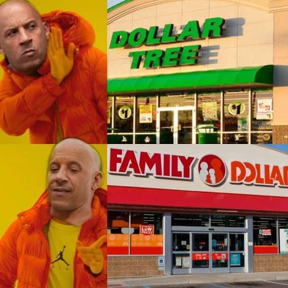 dollar store fast and furious family memes