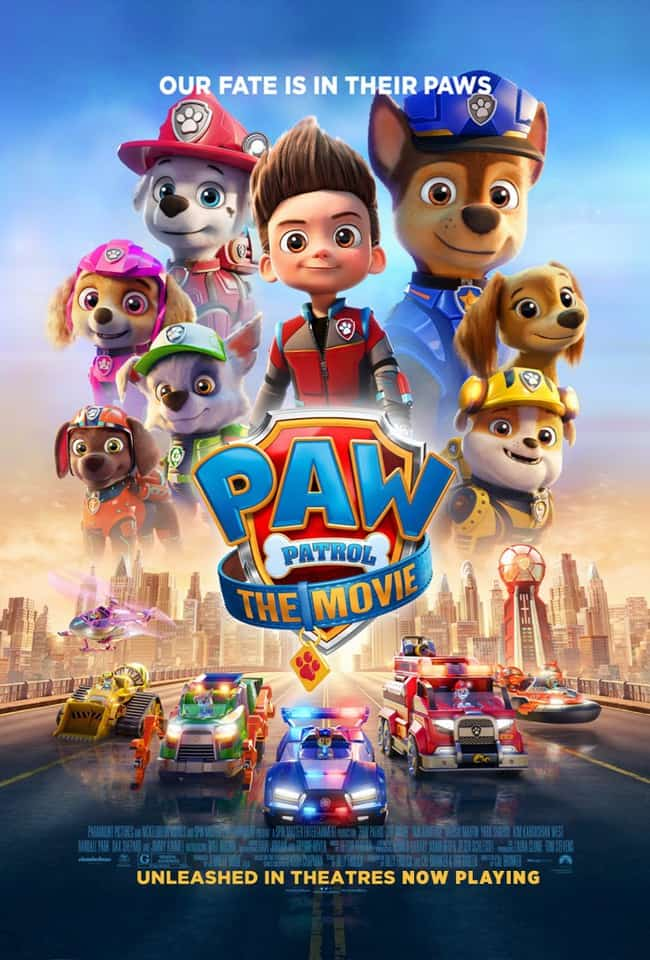 paw-patrol-the-movie-quotes and lines