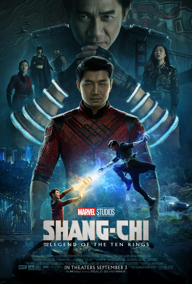 Movie quotes from SHANG-CHI AND THE LEGEND OF THE TEN RINGS